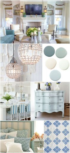 Looking to decorate your apartment in a coastal and beach look? Decorate with turquoises, blues, and whites! #decor