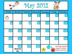 This May calendar for ActivBoard is packed full of 40 pages of skills for calendar time. Includes activities for calendar, weather, counting to 100...