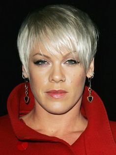 pink short hair, yes, love it Pink Short Hair, Short Hair Cuts, Short Hair Styles, Pixie Cuts, Short Hairstyles For Women, Celebrity Hairstyles, Trendy Hairstyles, Singer Pink Hairstyles, Black Hairstyles