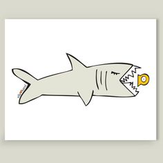 9 Art Prints to Celebrate Shark Week!