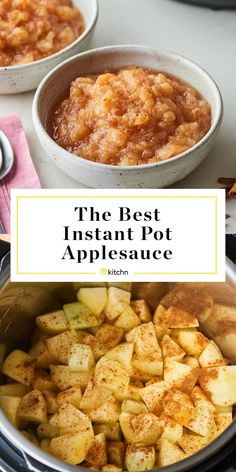Instant Pot applesauce isn& just the fastest way to make homemade applesauce — it& also the most delicious. Plus, you only need a few ingredients (and less than an hour). Instapot Applesauce, Homemade Applesauce, Crock Pot Applesauce, Pots, Zucchini Bread Recipes, Healthy Zucchini, Snacks Sains, Instant Pot Dinner Recipes, Instant Pot Meals