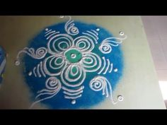 makar sankranti rangoli design - YouTube