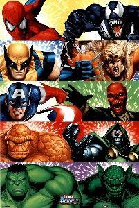 marvel cover art for the incredable hulk vs abomination   Marvel Heroes (Heroes Vs. Villains) Art Poster Print - 24 X... review ...