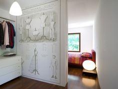 HAUTE COUTURE | Wallpaper - Papiers de Paris - great for a closet or sewing room