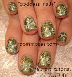 greek goddess nails  www.youtube.com/watch?v=DwbwRB2yN-A