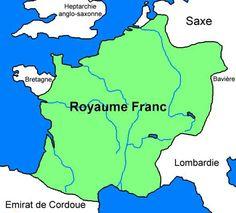 PÉPIN LE BREF (714-768) - roi des Francs (751-768) - Deuxième fils de Charles Martel, Pépin devint, après la mort de celui-là, maire du palais en même temps que son frère aîné Carloman...