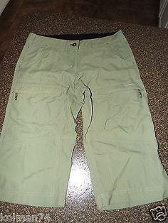 ExOfficio Womens Capri Pants Size 8 Excellent Cond | eBay