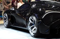 The world's most expansive car. This car is the world's most expensive car ever of This car looks really aggressive and attractive. Most Expensive Car Ever, Expensive Cars, Bugatti, Hd Wallpapers Of Cars, Background Pictures, Car Pictures, Black Cars, Background Images, Photo Backdrops