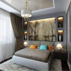 #дизайн #спальня