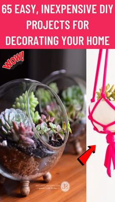 #easy #inexpensive #DIY #projects #decorating #home
