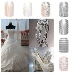 Wedding Jamberry nails are a must for the budget conscious bride and bridal party!