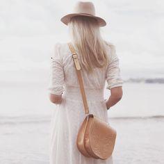 Boho Leather Co | 'Sophia' Large Leather Saddle Bag