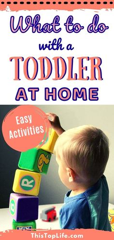 Wondering what to do with your toddler at home? Toddlers are busy especially toddler boys! As they play they learn and develop skills. Have a look at this list of 25 toddler activities for 2-year olds. These fun things to do with your toddler will keep the tantrums at bay. These easy to do, low preparation, activities to do at home with your two-year old toddler will keep your toddler happy all day long! #ThisTopLife #ToddlerActivities #MommyBlogger #Toddler #Parenting PlayBasedLearning Activities For 2 Year Olds, Activities To Do, Toddler Activities, Parenting Articles, Parenting Hacks, Toddler Gifts, Toddler Boys, Busy Board, Play Based Learning