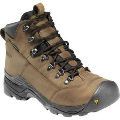 If your weekend camping trip suddenly turns soggy, not to worry, the Men's  Keen Glarus Hiking Boots will get you through. The waterproof full-grain  leather ...