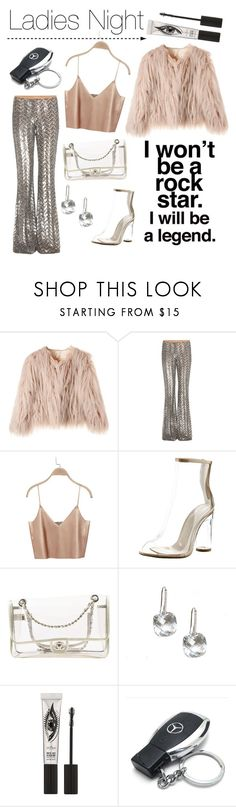 """""""Night Out"""" by kandace-florence ❤ liked on Polyvore featuring Michael Kors, Cape Robbin, Chanel, Eyeko and Mercedes-Benz"""