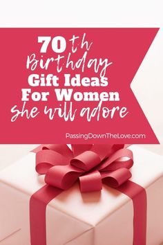The Best Birthday Gift Ideas for Her. Ideas for great gifts for your Grandma. These are presents your Grandmother will love! 70th Birthday Presents, Birthday Gifts For Grandma, 70th Birthday Parties, Birthday Gifts For Best Friend, Birthday Gifts For Women, Grandmother Birthday, 70 Birthday Gift Ideas, 17th Birthday, Mom Birthday