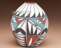 "Mission Del Rey Southwest - Native American Tigua Indian Pottery Vase 5"", $79.95 (http://www.missiondelrey.com/native-american-tigua-indian-pottery-vase-5-ae/)"
