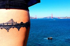 33 Stunning Landscape Tattoos That Will Remind You Of Home