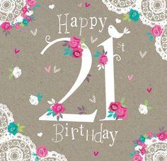 Happy 21st Birthday                                                                                                                                                                                 More