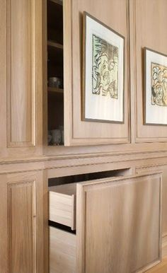 Exceptionnel Idea :: Built In Wall With Hidden Cabinets U0026 Drawers