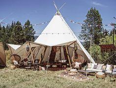 DOS Designer, Brit Castanos' Bohemian Wedding Venue http://www.daughtersofsimone.com