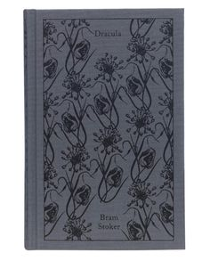 """Clothbound Penguin Classics (""""Dracula,"""" by Bram Stoker), designed by Coralie Bickford-Smith"""