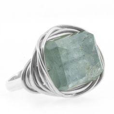 Judith Bright Jewelry - SS Lots O' Rocks Ring, $188.00 (http://www.judithbright.com/ss-lots-o-rocks-ring/)