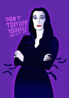 •°• The GotHic Underground •°• Awesome Morticia Addams animation!!