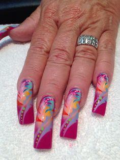 Summer nail art*