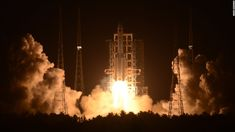 The second launch of China's new-generation Long March-5 carrier rocket failed Sunday -- dealing a blow to the country's ambitious space aspirations.