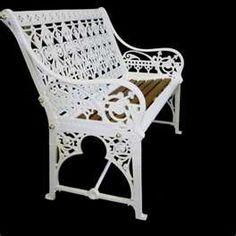 Superieur Antique Victorian Coalbrookdale Cast Iron Garden Bench Cast Iron Garden  Bench, Cast Iron Bench,