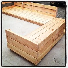 Ana White | Build a Platform Outdoor Sectional | Free and Easy DIY Project and Furniture Plans