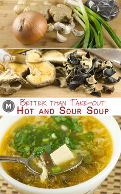 A traditional Asian soup with lots of spicy and savory flavors.