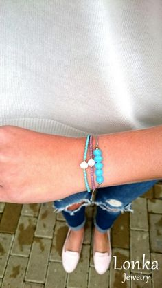 New bracelet from   #armparty #armcandy #handmade #bracelet