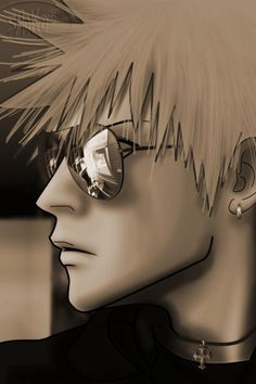 Ichigo....... Kurosaki!? *W*  i wish i can take you out of the monitor-!!!!!