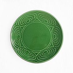 Japanese Dinner Plate Green 24cm Japanese Dinner, Eye Pattern, Japanese Ceramics, Ceramic Plates, Dinner Plates, Green Colors, Contemporary Design, Traditional, Pottery Plates
