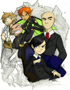 artemis fowl and co by Indiewikkan on @DeviantArt