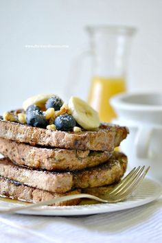 Gluten-Free & Vegan French Toast - Fork & Beans #glutenfree #vegan #breakfast