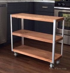 Ana White | Build a Easiest Industrial Cart | Free and Easy DIY Project and Furniture Plans