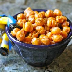 Lots and lots of roasted chickpea ideas - great healthy snack alternative