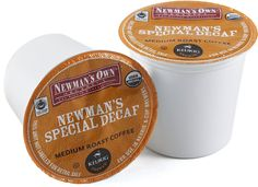 Newman's Own Organics Special Blend Decaf - 18 Count >> Stop everything and read more details here! : K Cups