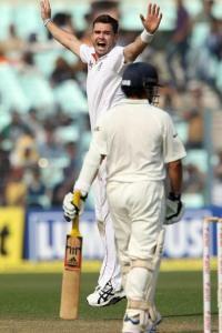 James anderson wrecks Indian batsmen