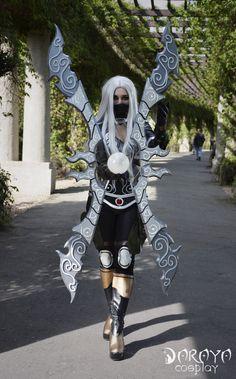 nightblade irelia cosplay by Daraya-crafts on DeviantArt