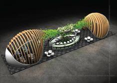 Seluz Build for Beauty World 2016 Bamboo Architecture, Landscape Architecture Design, Concept Architecture, Theme Design, Web Banner Design, Kiosk Design, Display Design, Exhibition Stall Design, Exhibition Stands