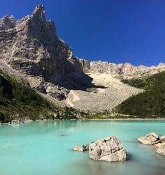 Lago Sorapis, Sextener Dolomiten, Südtirol