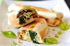 Reggeli burrito recept