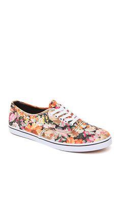 Vans Authentic Low Pro Coriander Floral Sneakers #pacsun