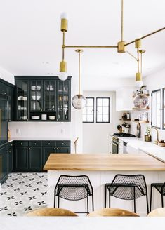Who doesn't love Black & White! | Simple, Clean and Modern! |  Dress Up your Kitchen | 16 Kitchen Stools Inspired by Fashion | Check out our Options  acheekylifestyle.com
