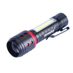 E81 COB+XPE 4 Modes 300Lumens Zoomable Mini Portable LED Flashlight 14500/AA Battery Work Light Light Flashlight, Work Lights, Holiday Lights, Strip Lighting, Bulb, Mini, Linear Lighting, Onions