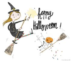 Halloween - Erica Salcedo Illustration potfolio